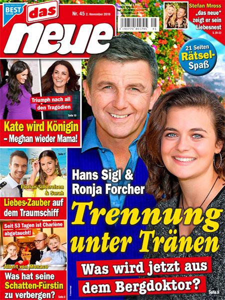 Hans Sigl & Ronja Forcher - Trennung unter Tränen - Was wird jetzt aus dem Bergdoktor?