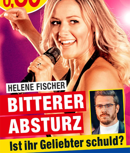 Helene Fischer - Bitterer Absturz - Ist ihr Geliebter schuld?