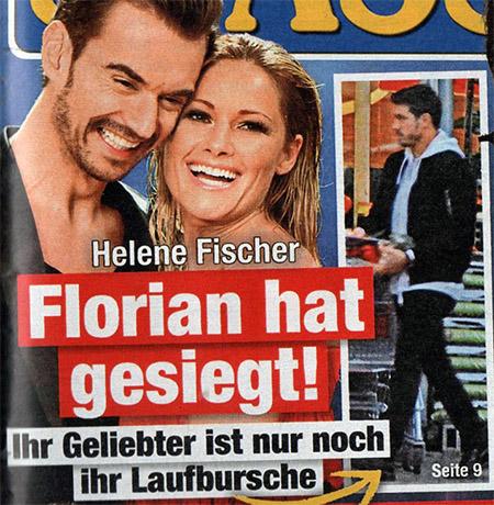 Helene Fischer - Florian hat gesiegt! - Ihr Geliebter ist nur noch ihr Laufbursche