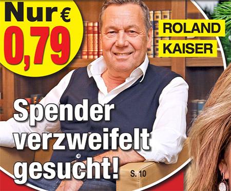 Roland Kaiser - Spender verzweifelt gesucht!