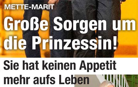 Mette-Marit - Große Sorgen um die Prinzessin! - Sie hat keinen Appetit mehr aufs Leben