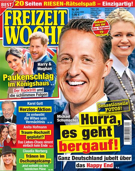 Michael Schumacher - Sensationelle Fotos! - Hurra, es geht bergauf! - Ganz deutschland jubelt über das Happy End