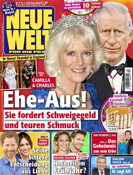 Camilla & Charles - Ehe-Aus! - Sie fordert Schweigegeld und teuren Schmuck