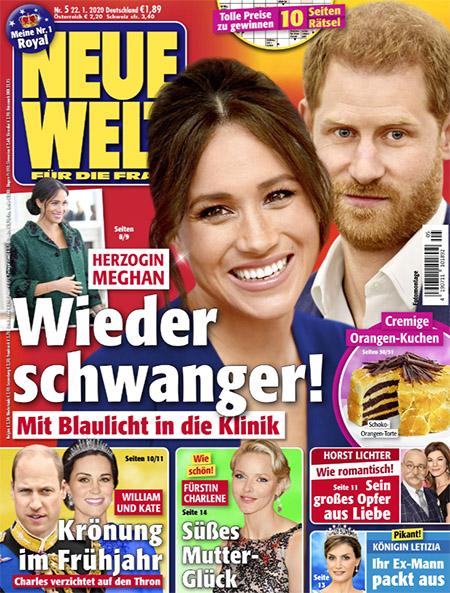 Herzogin Meghan - Wieder schwanger! - Mit Blaulicht in die Klinik