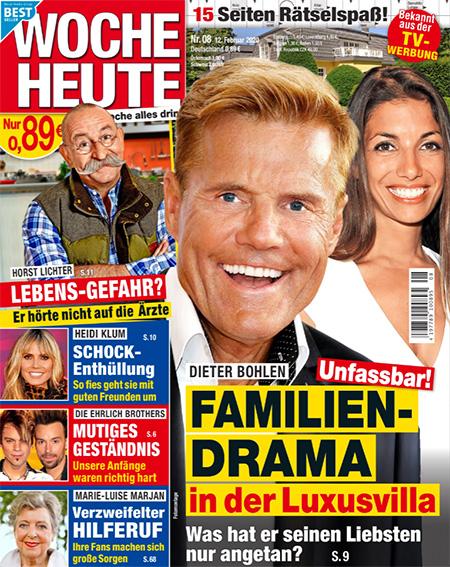 Dieter Bohlen - Unfassbar! - Familien-Drama in der Luxusvilla - Was hat er seinen Liebsten nur angetan?