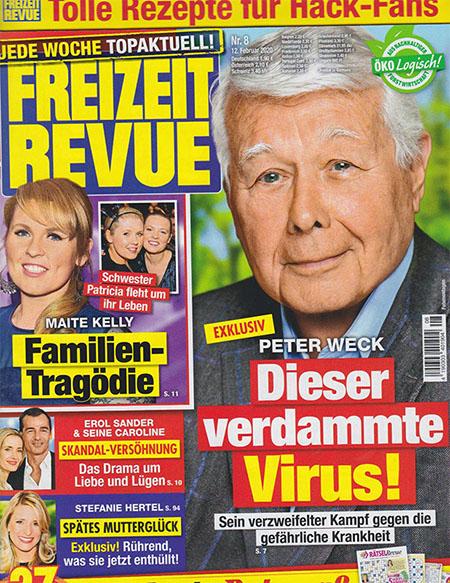 Exklusiv - Peter Weck - Dieser verdammte Virus! - Sein verzweifelter Kampf gegen die gefährliche Krankheit