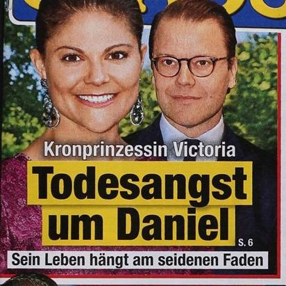 Kronprinzessin Victoria - Todesangst um Daniel - Sein Leben hängt am seidenen Faden