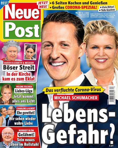 Das verflcuhte Corona-Virus - Michael Schumacher - Lebensgefahr?