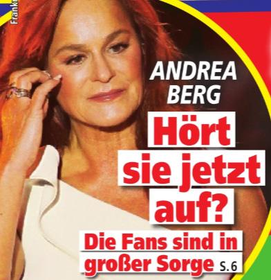 Andrea Berg - Hört sie jetzt auf? Die Fans sind in großer Sorge