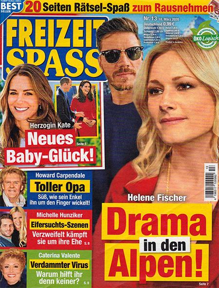 Helene Fischer - Drama in den Alpen!