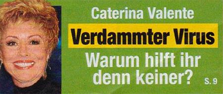 Caterina Valente - Verdammter Virus - Warum hilft ihr denn keiner?