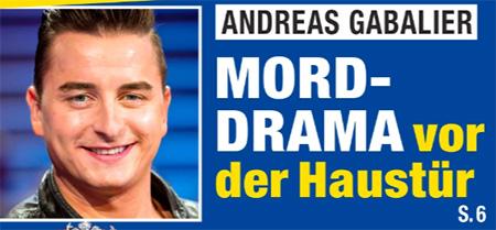 Andreas Gabalier - Mord-Drama vor der Haustür