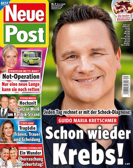 Jeden Tag rechnet er mit der Schock-Diagnose: Guido Maria Kretschmer - Schon wieder Krebs!