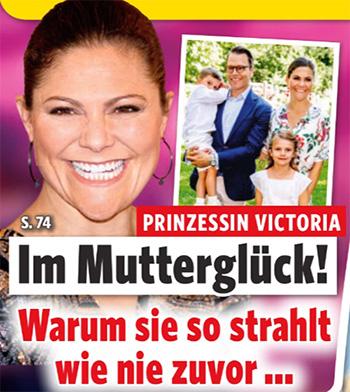 Prinzessin Victoria - Im Mutterglück! - Warum sie so strahlt wie nie zuvor ...