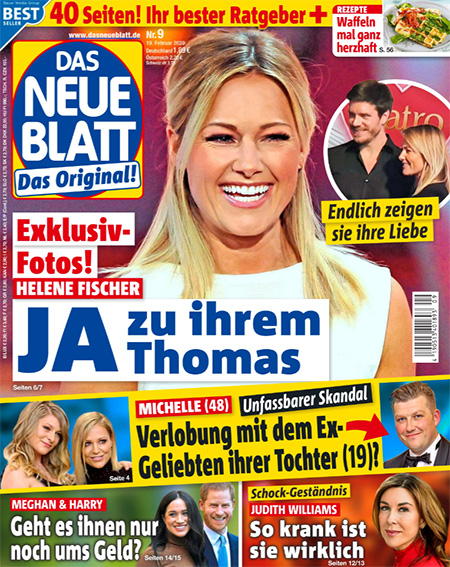 Exklusiv-Fotos! - Helene Fischer - JA zu ihrem Thomas
