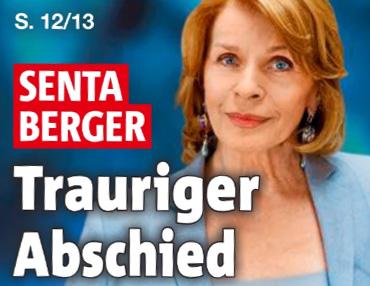 Senta Berger - Trauriger Abschied