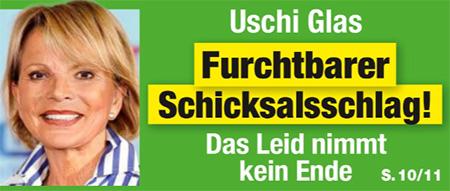 Uschi Glas - Furchtbarer Schicksalsschlag! - Das Leid nimmt kein Ende