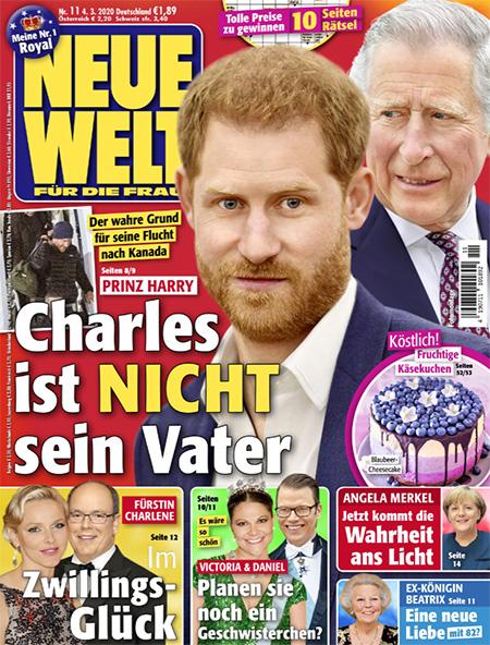 Der wahre Grund für seine Flucht nach Kanada - Prinz Harry - Charles ist NICHT sein Vater
