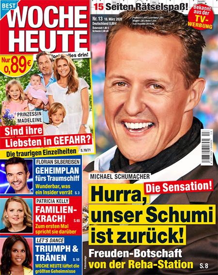 Michael Schumacher - Die Sensation! - Hurra, unser Schumi ist zurück! - Freuden-Botschaft von der Reha-Station