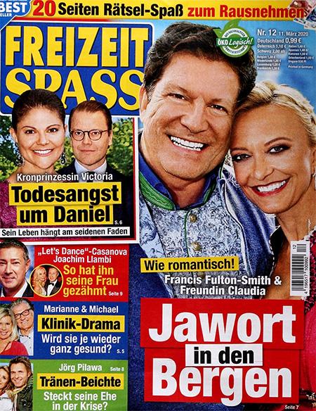 Wie romantisch - Francis Fulton-Smith & Freundin Claudia - Jawort in den Bergen
