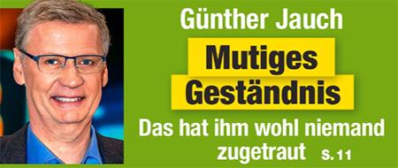 Günther Jauch - Mutiges Geständnis - Das hat ihm wohl niemand zugetraut