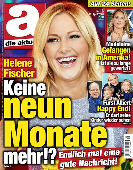 Helene Fischer - Keine neun Monate mehr!? - Endlich mal eine gute Nachricht!