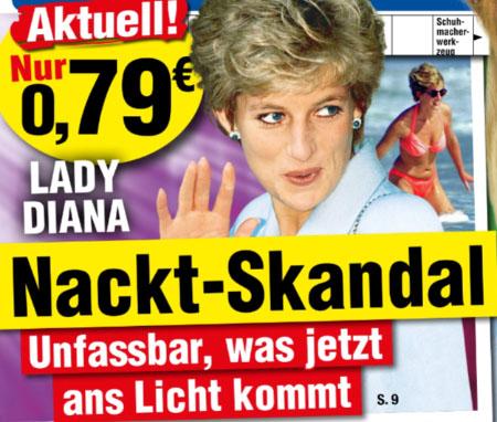 Lady Diana - Nackt-Skandal - Unfassbar, was jetzt ans Licht kommt