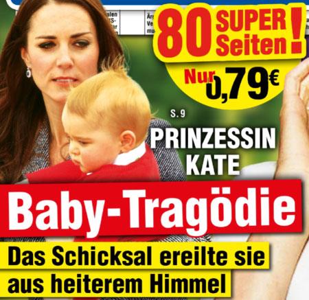Prinzessin Kate - Baby-Tragödie - Das Schicksal ereilte sie aus heiterem Himmel