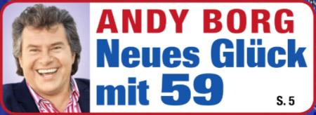 Andy Borg - Neues Glück mit 59