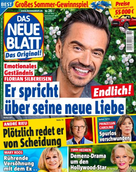 Emotionales Geständnis - Florian Silbereisen - Endlich! - Er spricht über seine neue Liebe