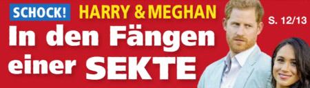 Schock! - Harry & Meghan - In den Fängen einer SEKTE