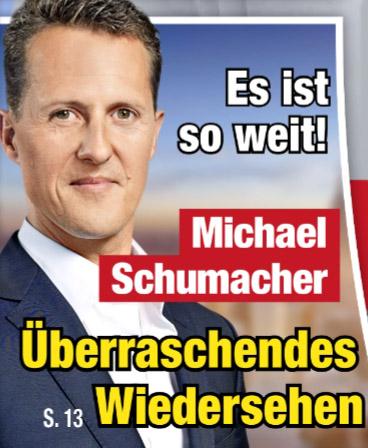 Es is so weit! - Michael Schumacher - Überraschendes Wiedersehen