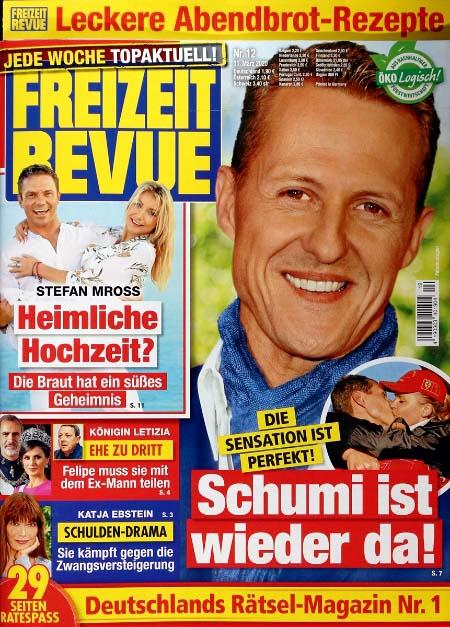 Die Sensation ist perfekt! - Schumi ist wieder da!
