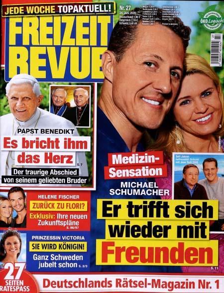 Medizin-Sensation - Michael Schumacher - Er trifft sich wieder mit Freunden