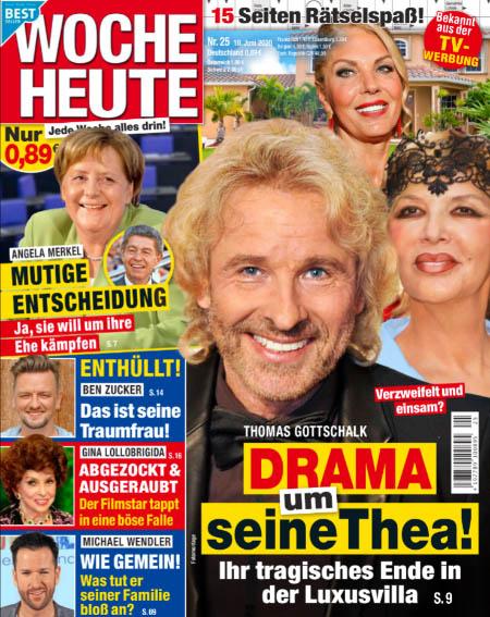 Verzweifelt und einsam? - Thomas Gottschalk - Drama um seine Thea! - Ihr tragisches Ende in der Luxusvilla