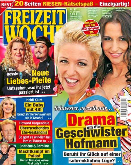 Schwester, verzeih mir ... - Drama um die Geschwister Hofmann - Beruht ihr Glück auf einer schrecklichen Lüge?