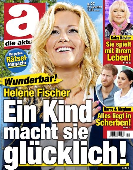 Wunderbar! - Helene Fischer - Ein Kind macht sie glücklich!