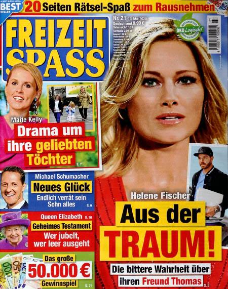 Helene Fischer - Aus der Traum! - Die bittere Wahrheit über ihren Freund Thomas