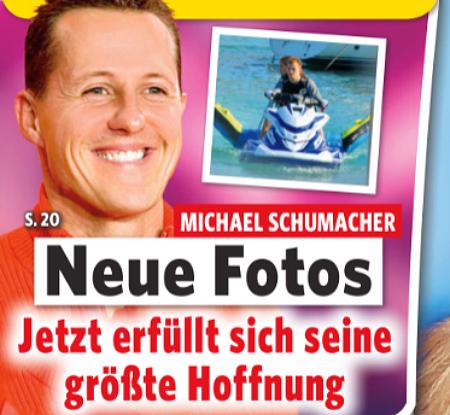 Michael Schumacher - Neue Fotos - Jetzt erfüllt sich seine größte Hoffnung