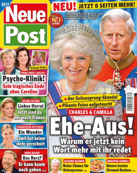 Der Seitensprung-Skandal - Pikante Fotos aufgetaucht - Charles & Camilla - Ehe-Aus! - Warum er jetzt kein Wort mehr mit ihr redet