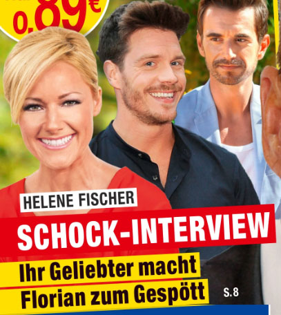 Helene Fischer - Schock-Interview - Ihr Geliebter macht Florian zum Gespött