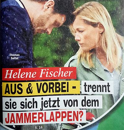 Helene Fischer - AUS & VORBEI - trennt sie sich jetzt von dem JAMMERLAPPEN?