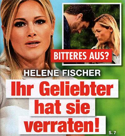 Bitteres Aus? - Helene Fischer - Ihr Geliebter hat sie verraten
