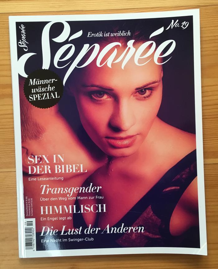 Titel der Zeitschrift Separée, Ausgabe Nr. 19 | Übermedien