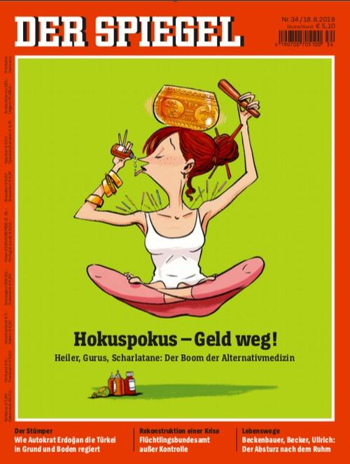 Spiegel-Cover: Hokuspokus - Geld weg!
