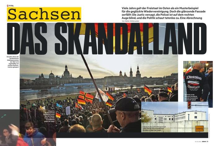 Sachsen, ein Trauerspiel der Berichterstattung | Übermedien