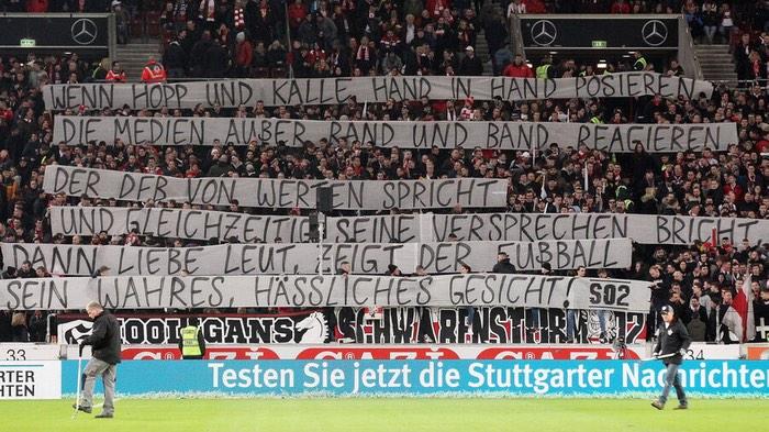 Wenn Hopp und Kalle Hand in Hand posieren, die Medien außer Rand und Band reagieren, der DfB von Werten spricht und gleichzeitig seine Versprechen bricht, dann liebe Leut, zeigt der Fußball sein wahres, hässliches Gesicht!