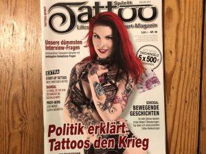 Politik erklärt Tattoos den Krieg
