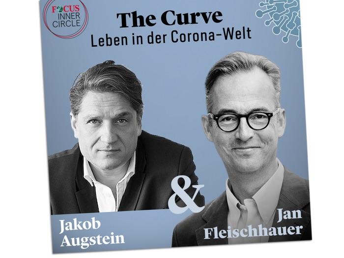 The Curve: Leben in der Corona-Welt. Podcast von Jakob Augstein & Jan Fleischhauer