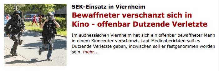 """""""Spiegel Online"""" meldet """"offenbar Dutzende Verletzte"""""""